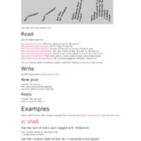 Tokumei | API